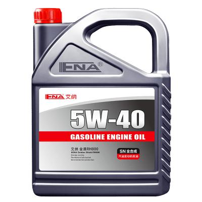 艾纳5W-40全合成机油 4L